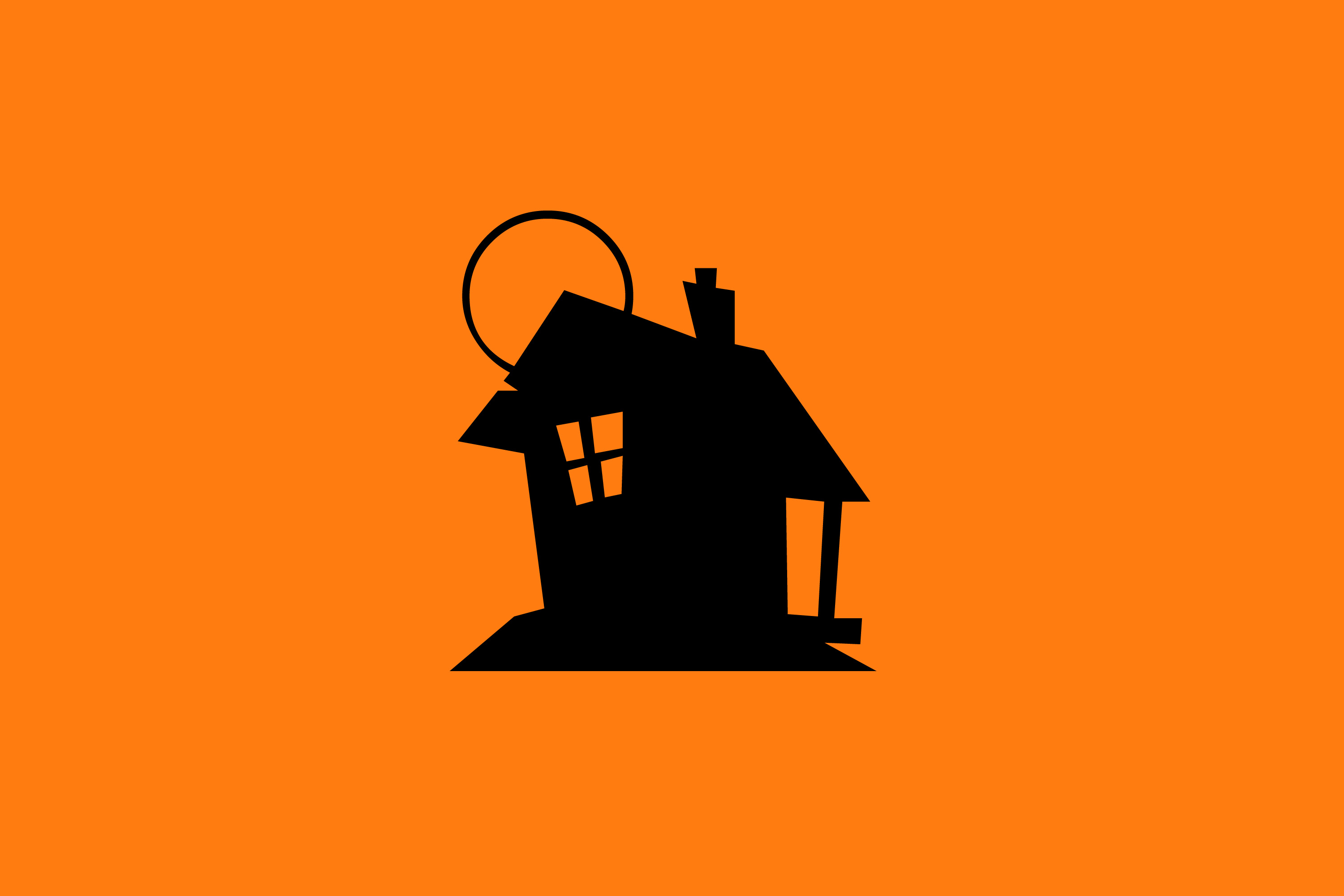 3000x2000 Image Of Haunted House Creepyhalloweenimages