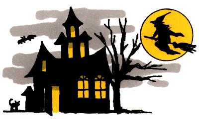 400x240 Mansion Clipart Haunted House