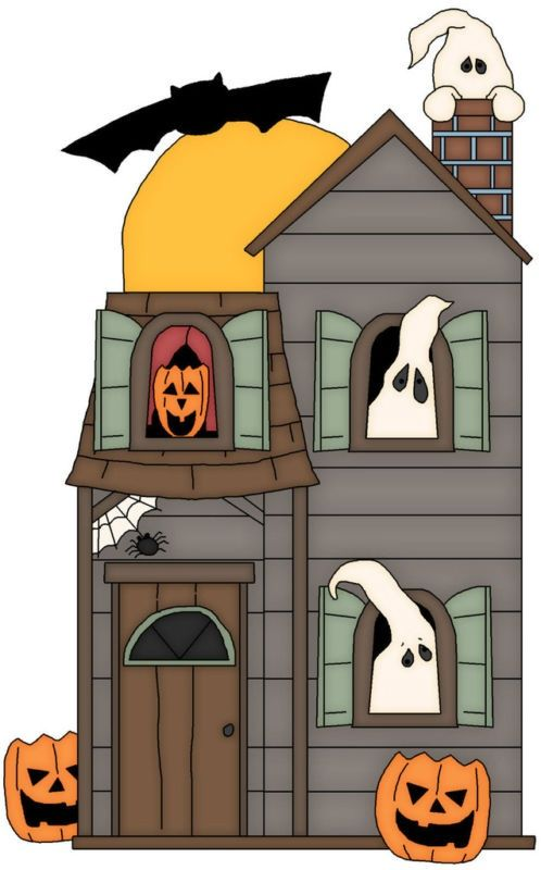 498x800 Top 91 Haunted House Clip Art