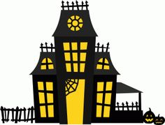 236x179 Cartoon Haunted House Halloween House Haunted
