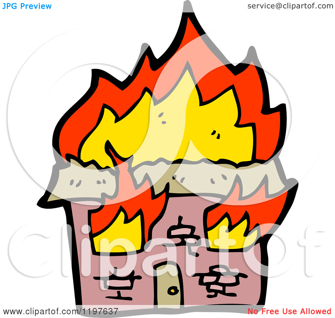 1080x1024 Cartoon House On Fire Clipart Panda