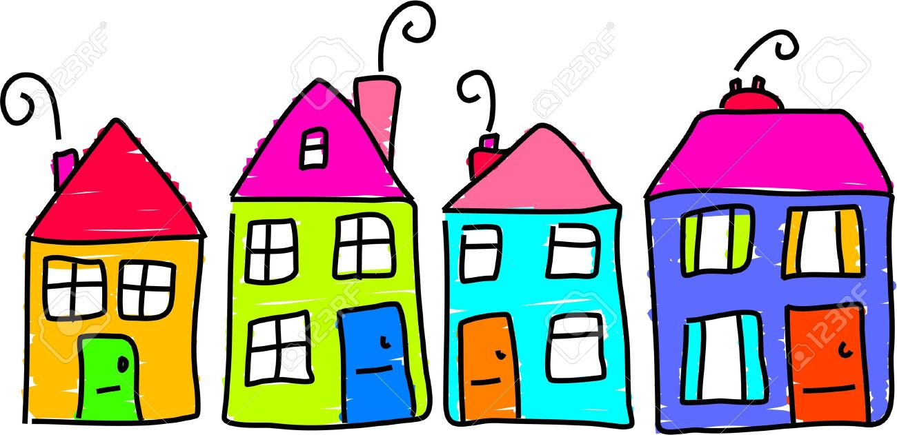 1300x631 Cartoon Pictures Of Homes Collection
