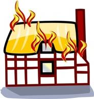 184x194 House On Fire Clipart Many Interesting Cliparts