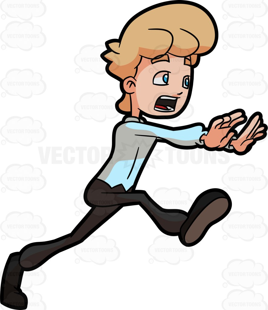 Cartoon Pictures Of People Running