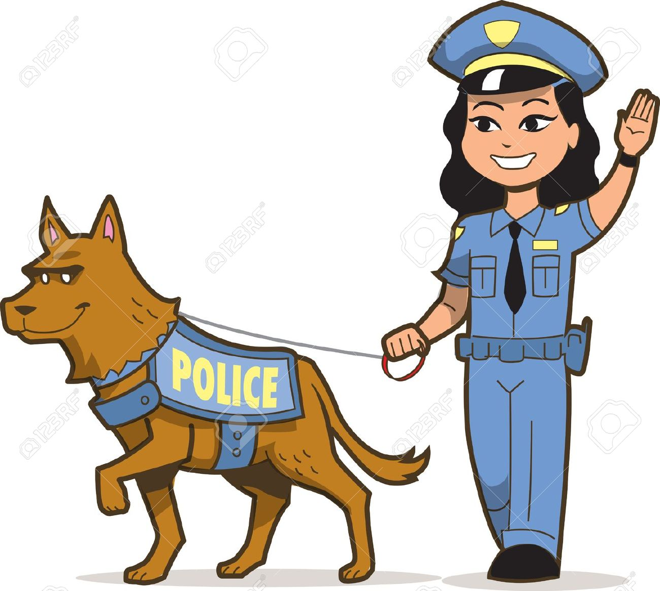 1300x1165 Clipart Of Police Dog