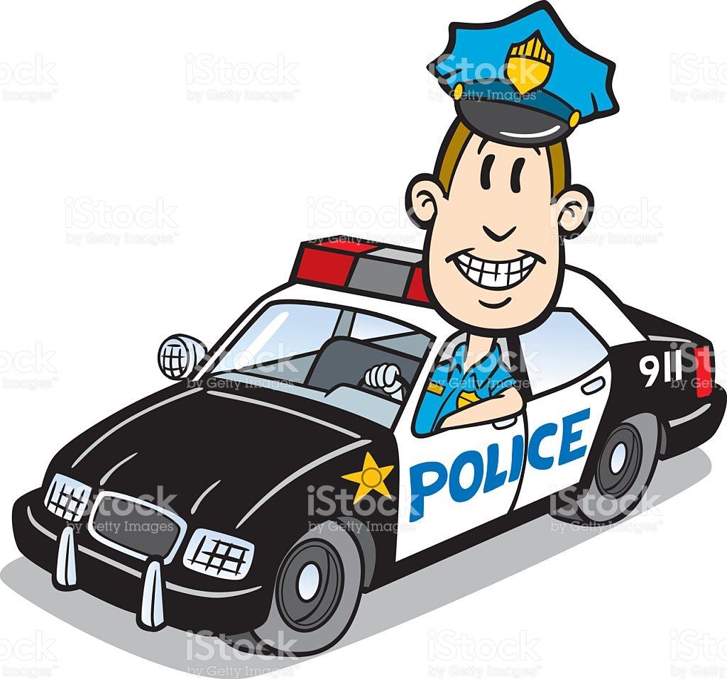 1024x957 Police Cartoon Collection