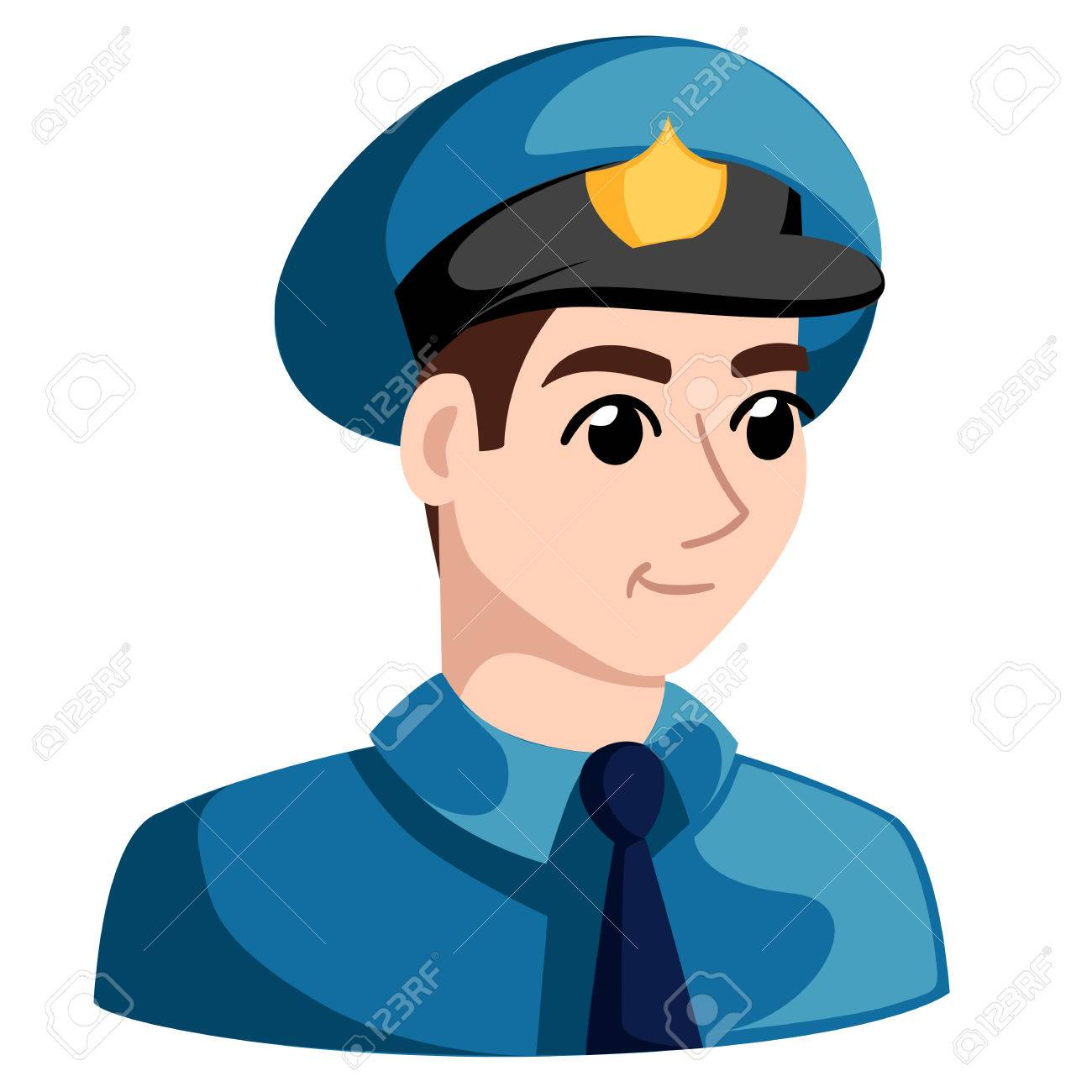 1300x1300 Police Officers With Donuts And Coffee, Policeman, Cartoon