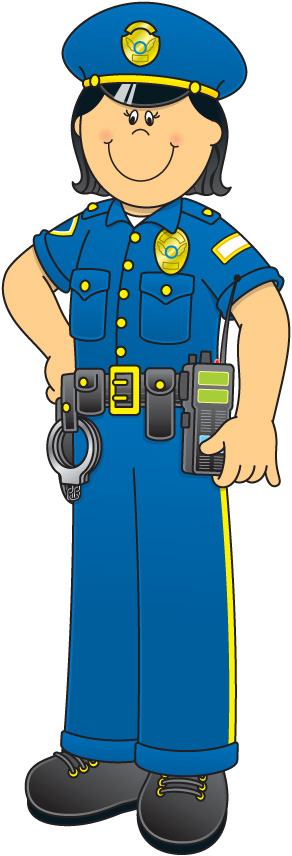 292x856 Police Clipart Police Officer