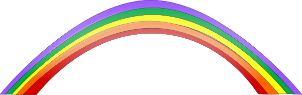 Cartoon Pictures Of Rainbows   Free download on ClipArtMag