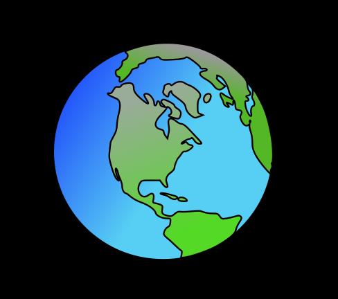 488x432 Cartoon Earth Clipart