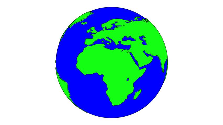 852x480 Cartoon Of Earth Group