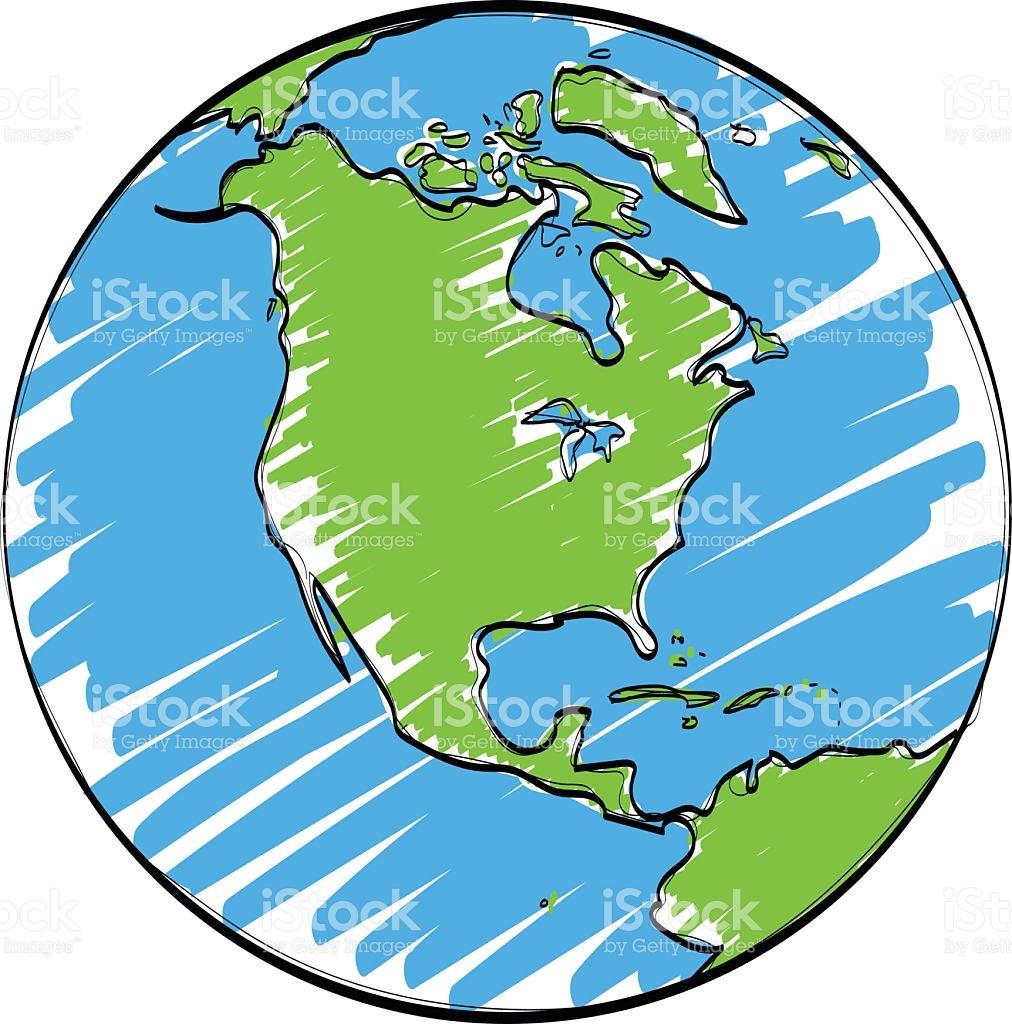 1012x1024 Drawn Earth Cartoon