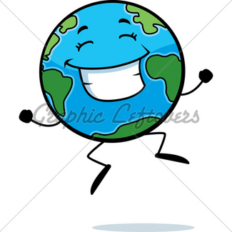 325x325 Earth Smiling Gl Stock Images