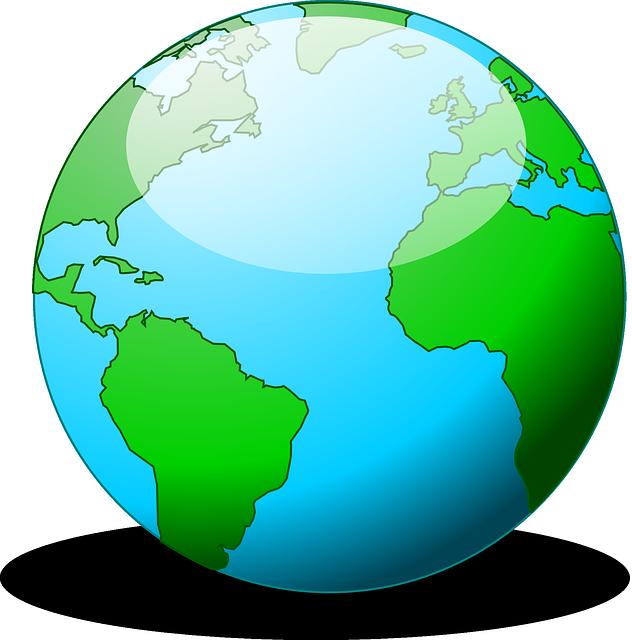 632x640 Free Cartoon Earth Clip Art