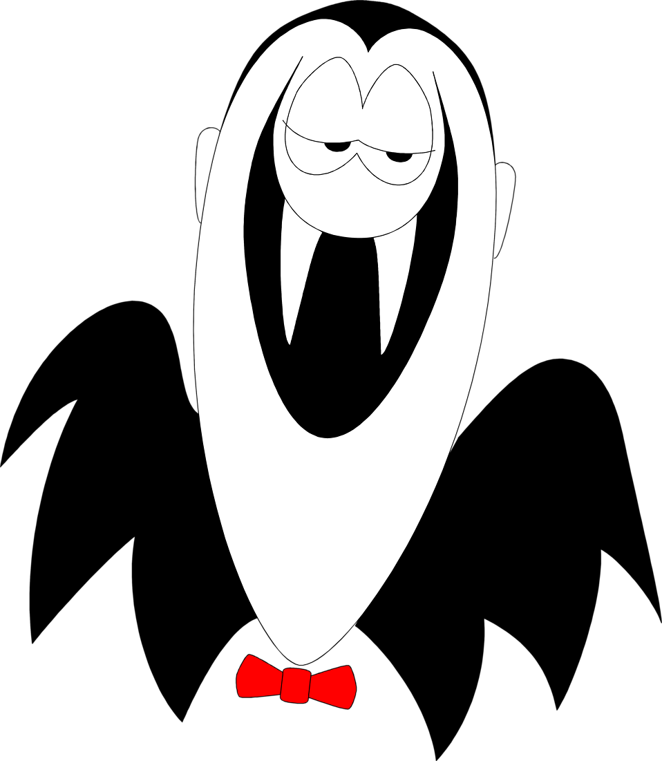 958x1101 Vampire Free Stock Photo Illustration Of A Cartoon Vampire