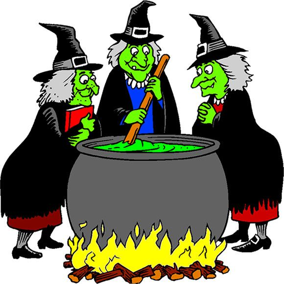Cartoon Pictures Of Witches
