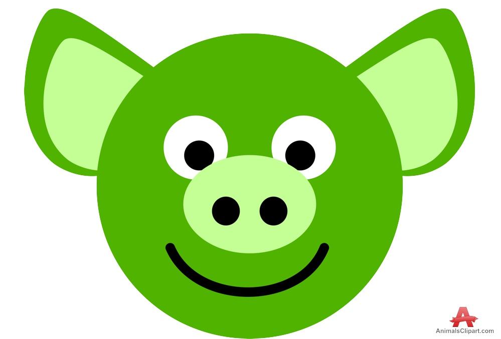 how to draw a cartoon pig face