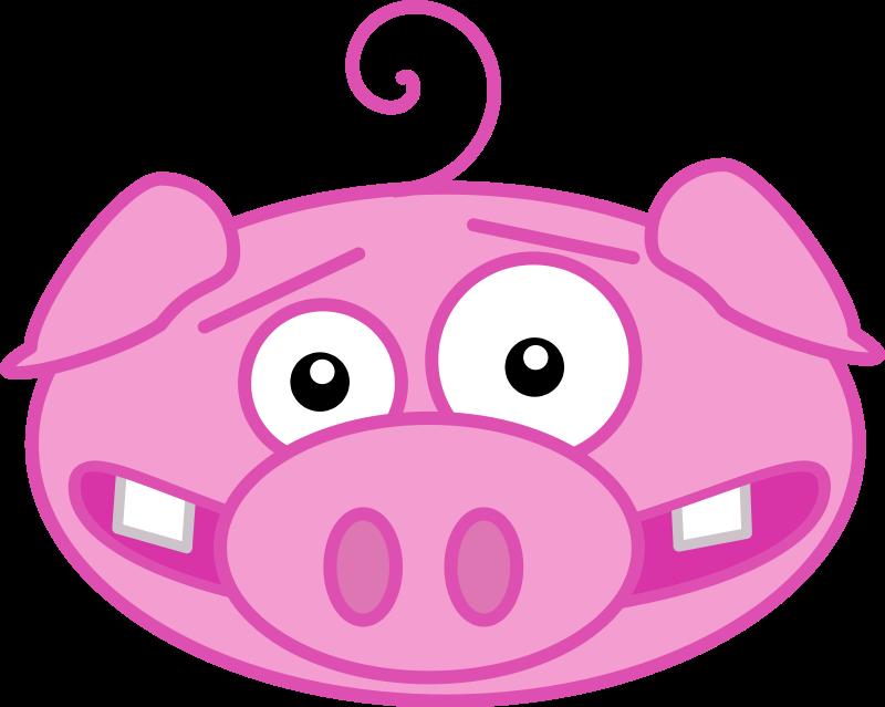 800x639 Pig Face Clipart