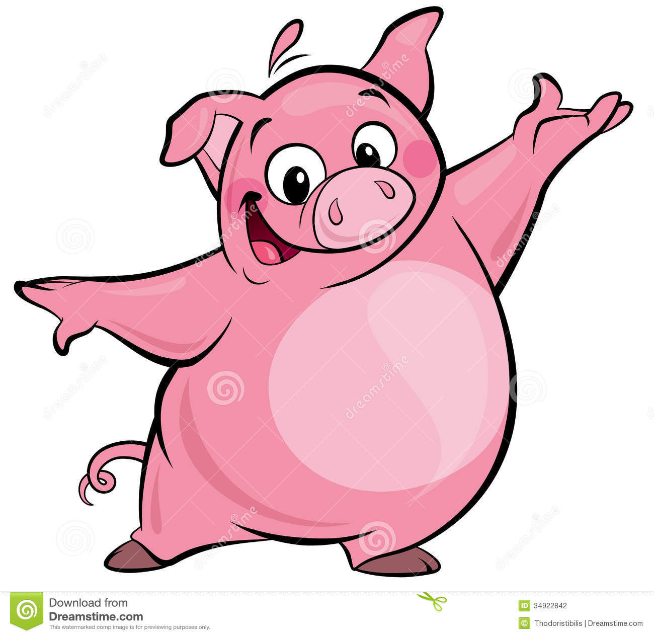 1300x1266 Pig In Mud Cartoon Clipart Panda