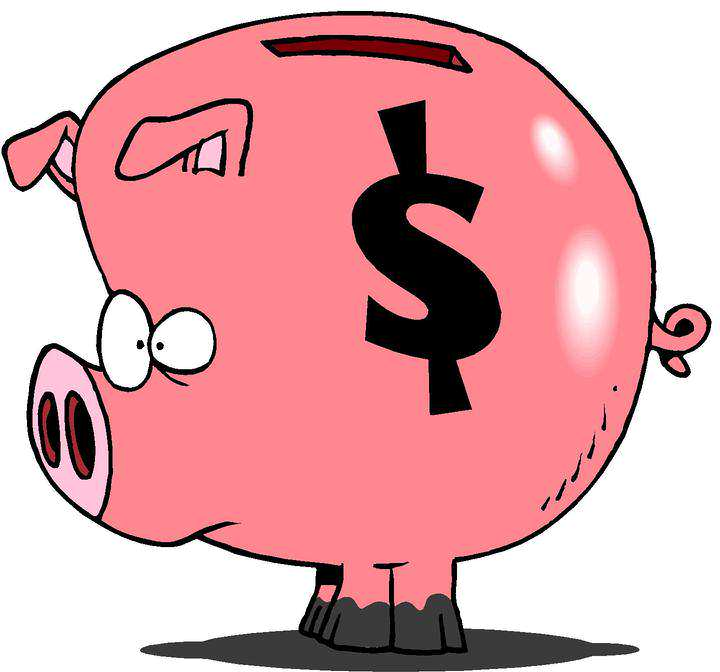 720x672 Piggy Bank Clipart