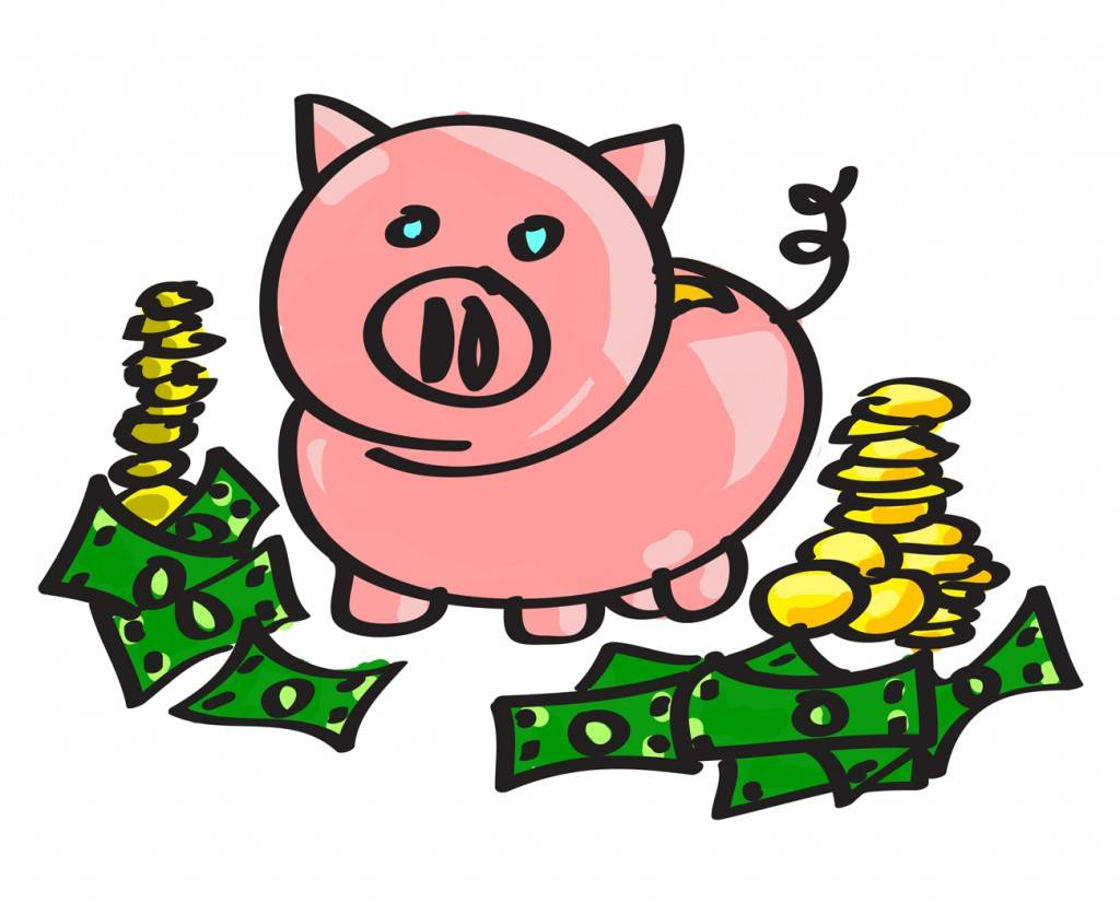 1024x837 Piggy Bank Clip Art 0