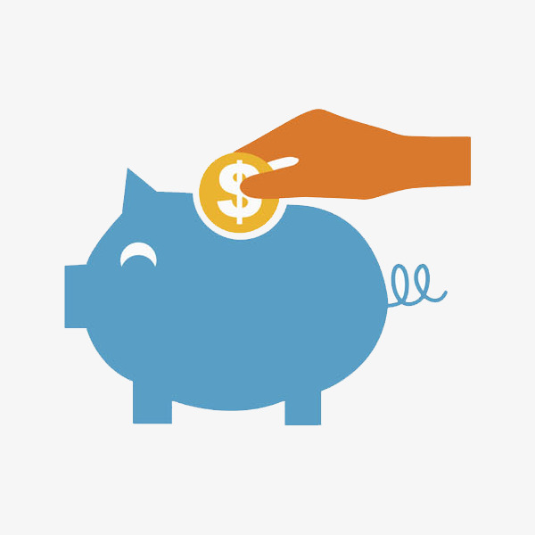 600x600 Piggy Bank, Pig, Cartoon Hand Drawing Png Image For Free Download
