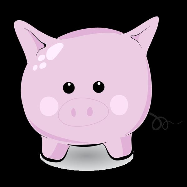 600x600 Pig Clipart