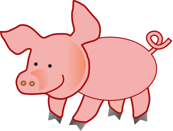 600x455 Pig Picture Clipart