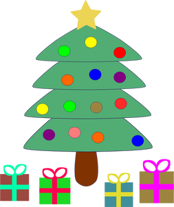 Cartoon Pine Tree Clipart