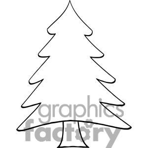 300x300 Drawn Pine Tree Cartoon