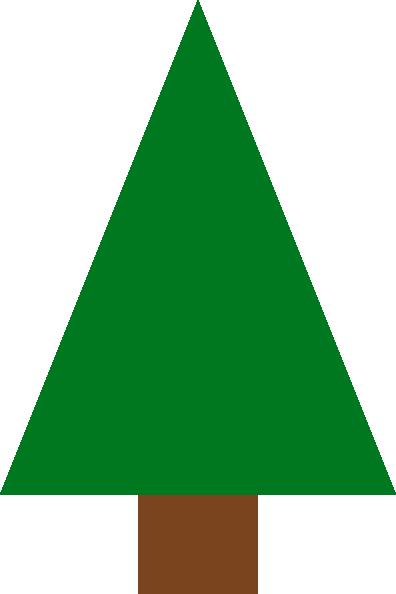 396x594 Fir Tree Clip Art