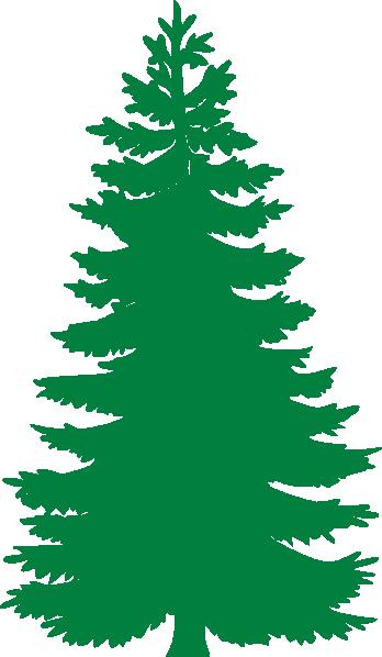 348x598 Pine Tree Clip Art