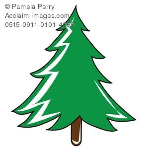 300x300 Pine Tree Clipart Cartoon