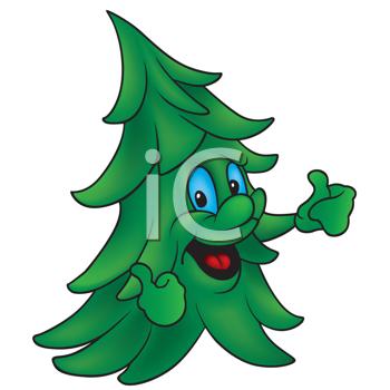 350x350 Pine Tree Clipart Cartoon