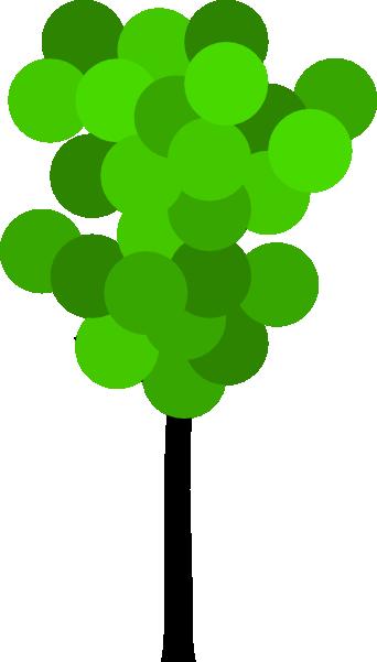 342x601 Cartoon Clipart Tree