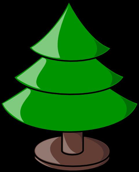 480x596 Christmas Tree Clip Art