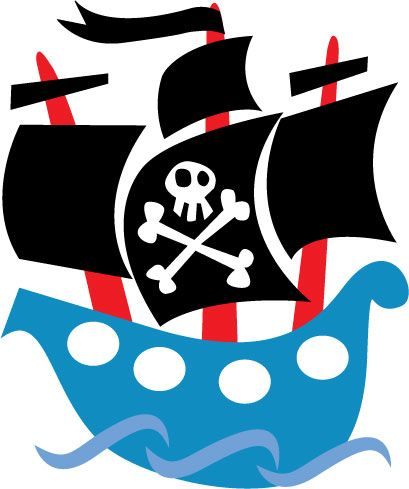 409x489 Cartoon Pirate Ship Clip Art Clipartfest