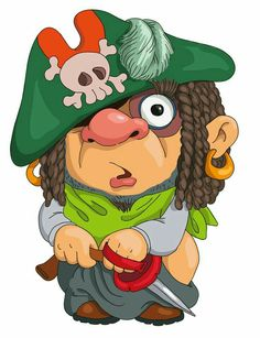 236x307 Illustration Of Cartoon Pirate Parrot Pirates