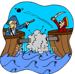 300x296 Wars Clipart Pirate Ship Cannon