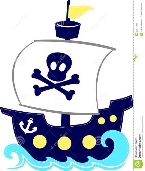 474x559 Cartoon Pirate Ships For Mural Bryson's Big Boy Room
