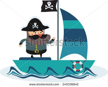450x364 Die Besten Cartoon Pirate Ship Ideen Auf