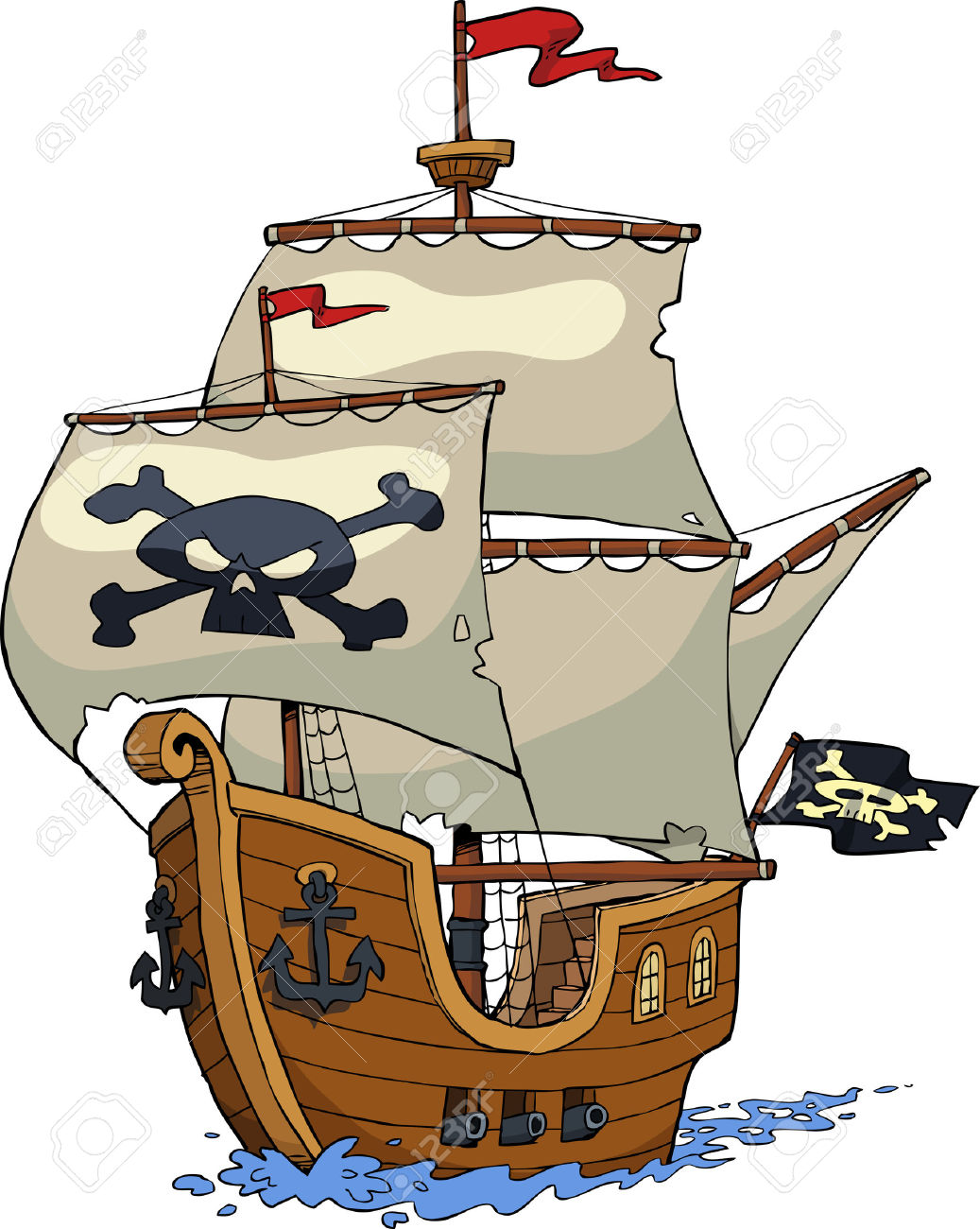 1037x1300 Image Result For Pirate Ship Cartoon Background Ship Concept