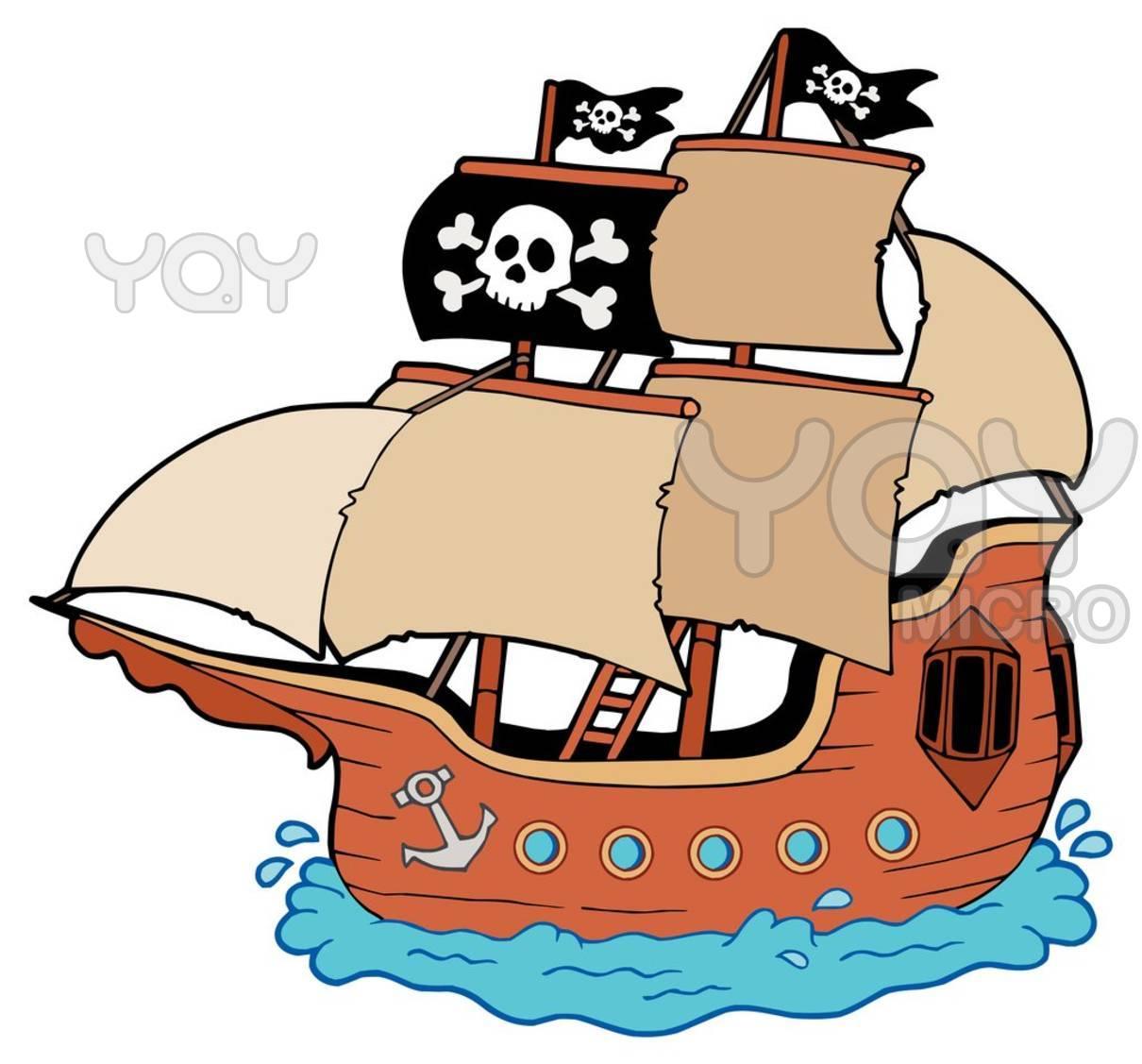 1210x1127 Pirate Ship Clipart