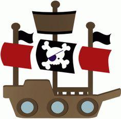 236x232 Pirate Ship Clipart