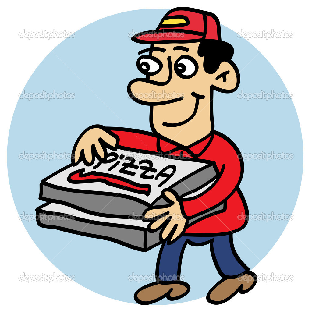 1024x1024 Man Clipart Pizza