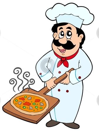 337x450 Pizza Clipart Cheff