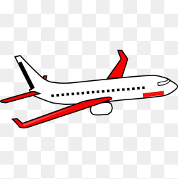 260x261 Red Cartoon Airplane, Gules, Cartoon, Aircraft Png Image For Free