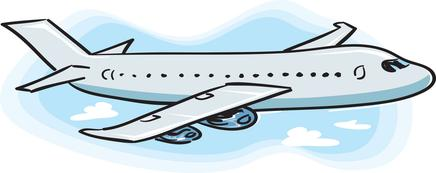 436x173 Airplane Free Cartoon Plane Clip Art Dromfch Top 4