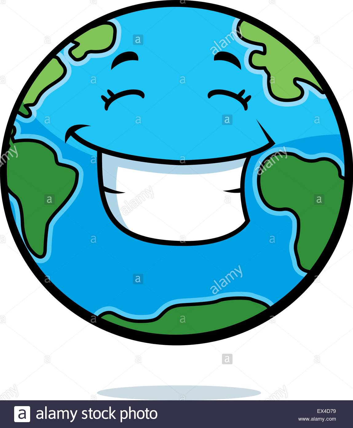 1148x1390 A Cartoon Planet Earth Happy And Smiling Stock Vector Art