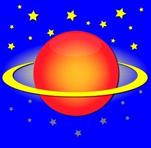300x295 Planet Clipart Image
